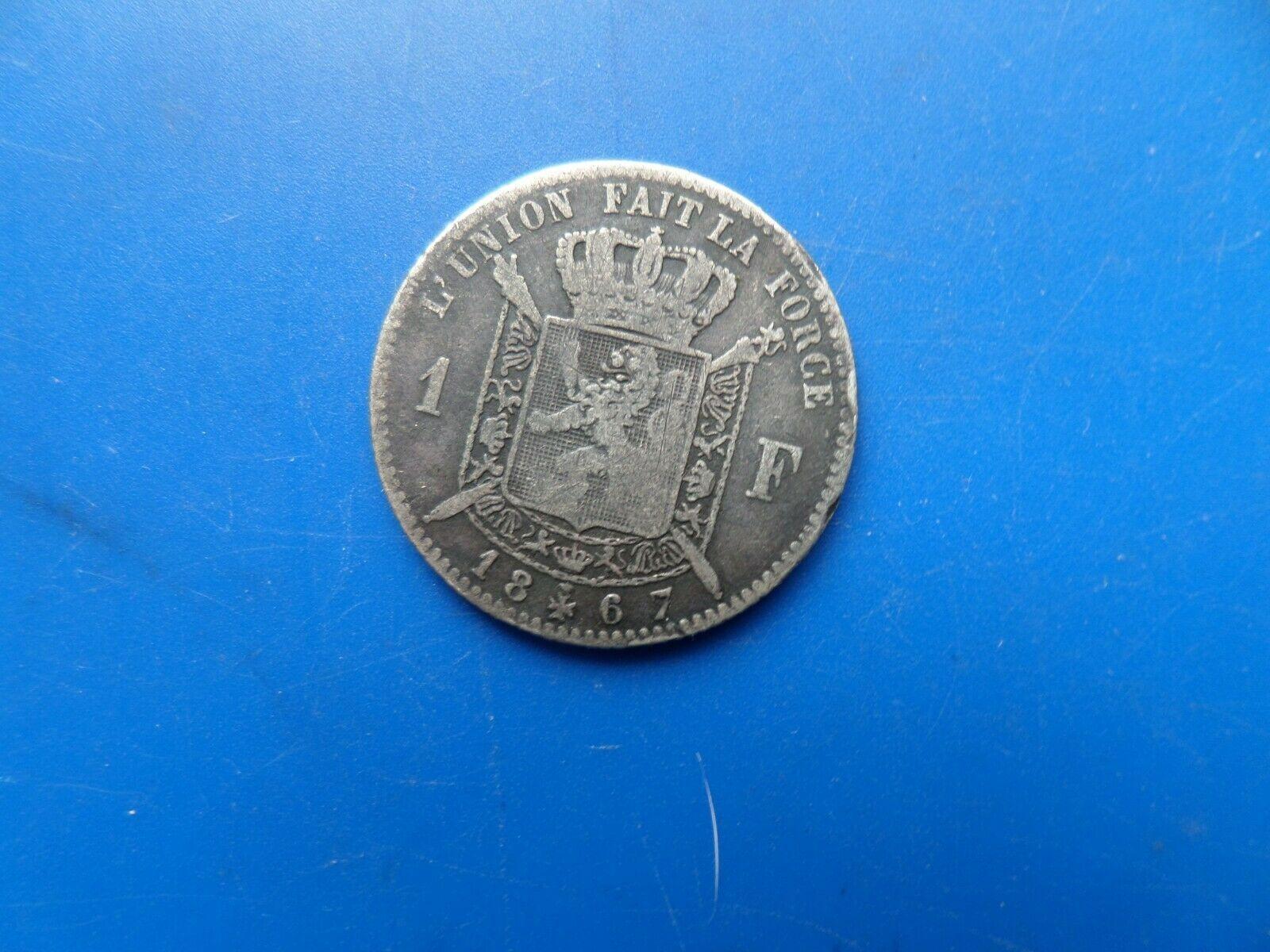 1 francs argent 1867