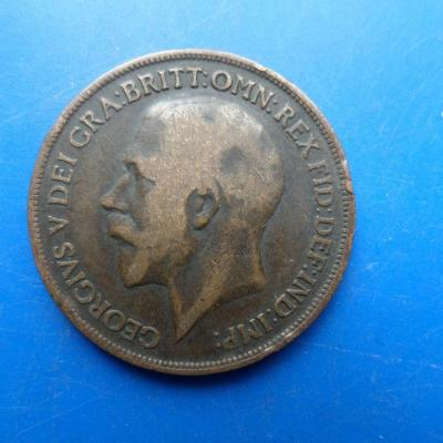 1 one penny 1918