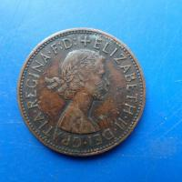 1 one penny 1967