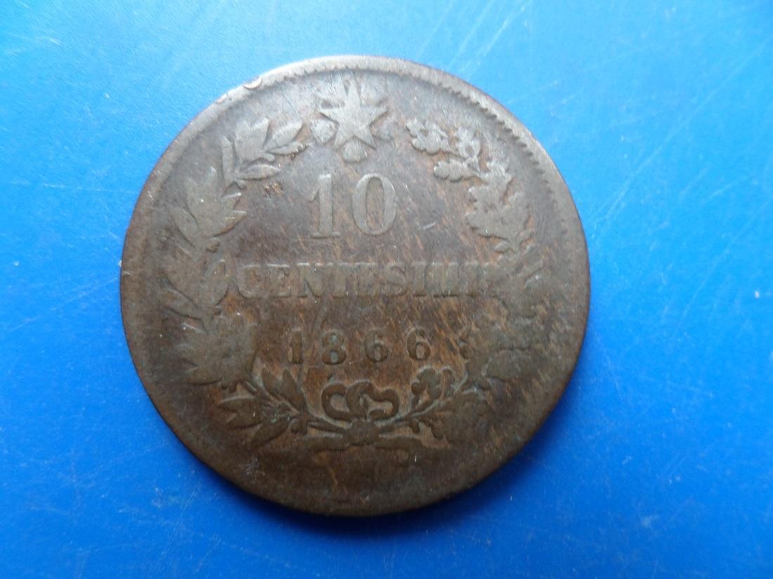 10 centesimi 1866