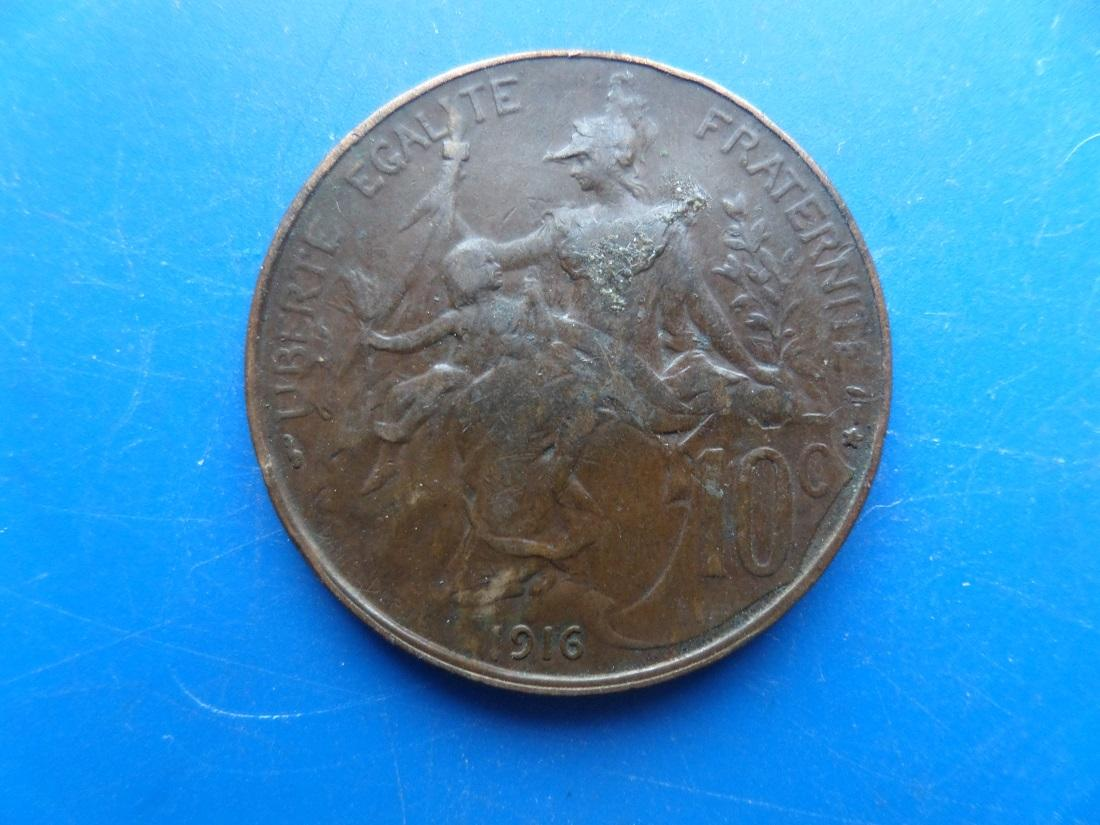 10 centimes 1916 dupuis