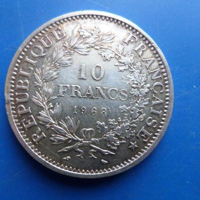 10 fr argent 1968