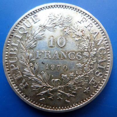 10 francs 1970 argent