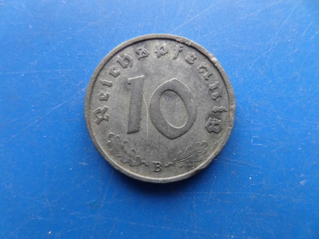 10 reichspfennig 1943