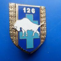 126 regiment d infanterie bison blanc