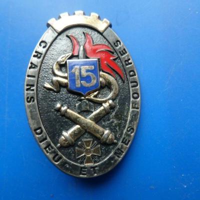 15 regiment d artillerie