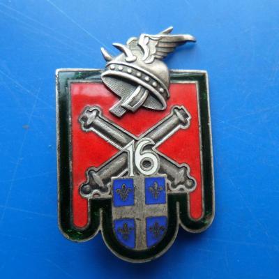 16 regiment d artillerie