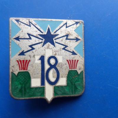 18 regiment de transmissions