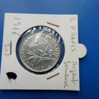 2 fr argent 1916