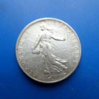 2 franc argent 1915