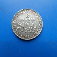 2 francs argent 1919