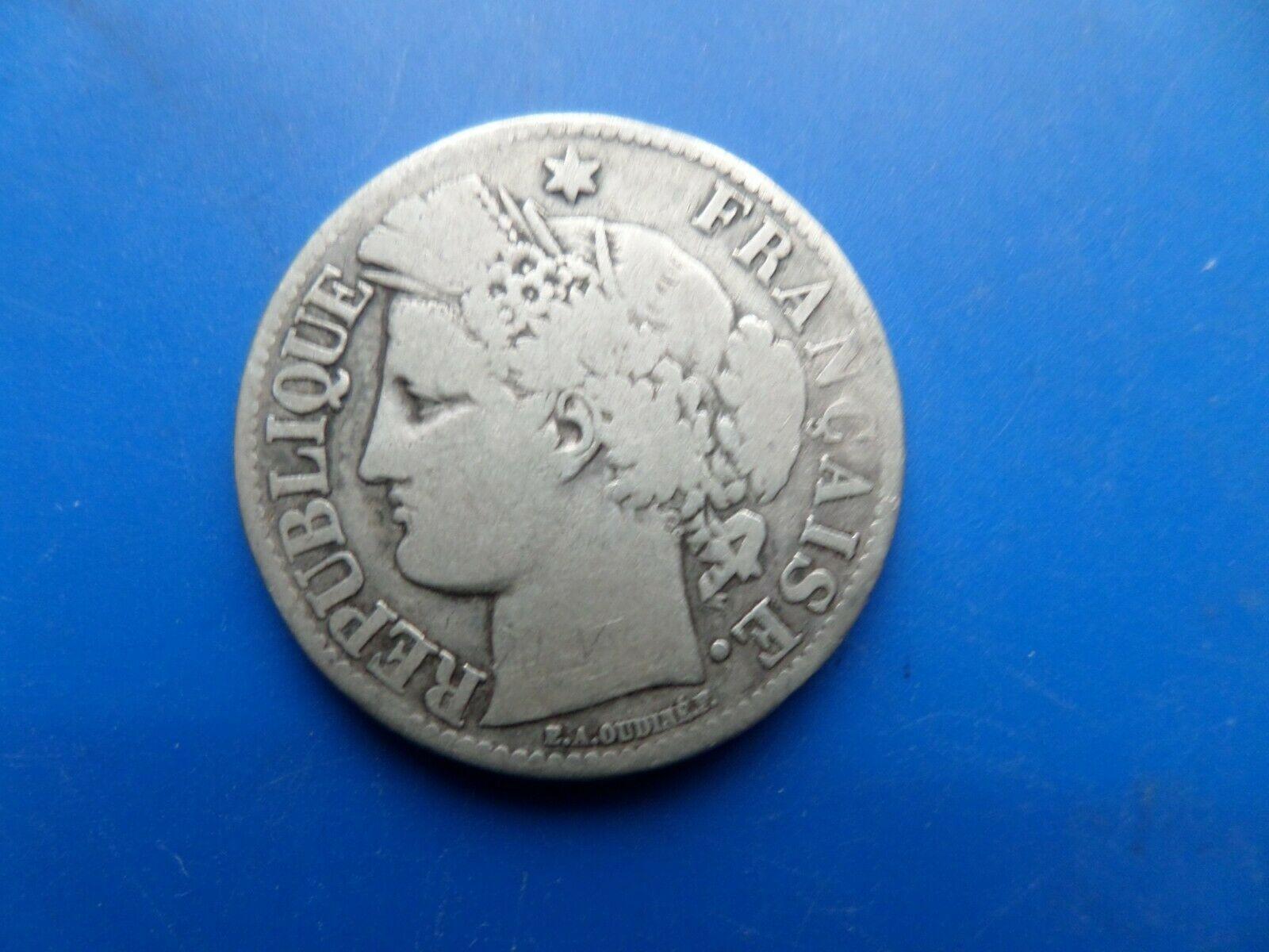 2 francs argent ceres 1871 a 1