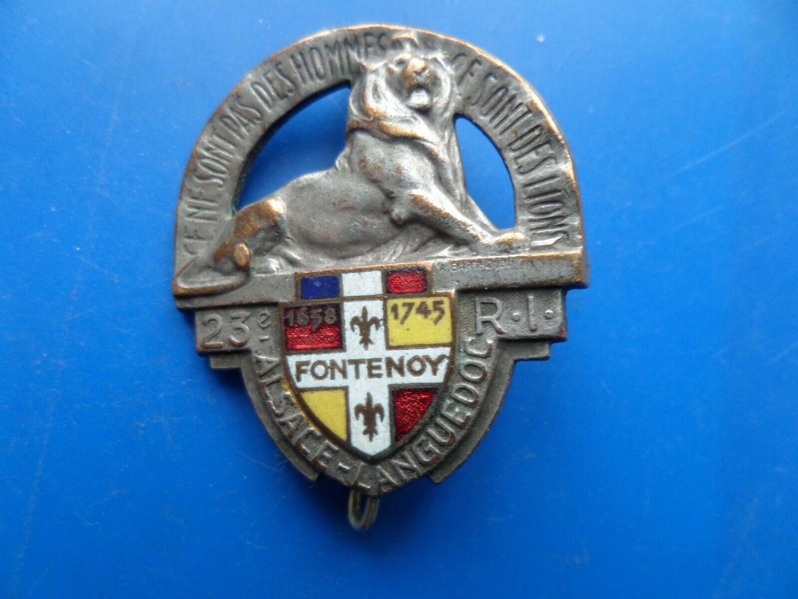 23 regiment d infanterie