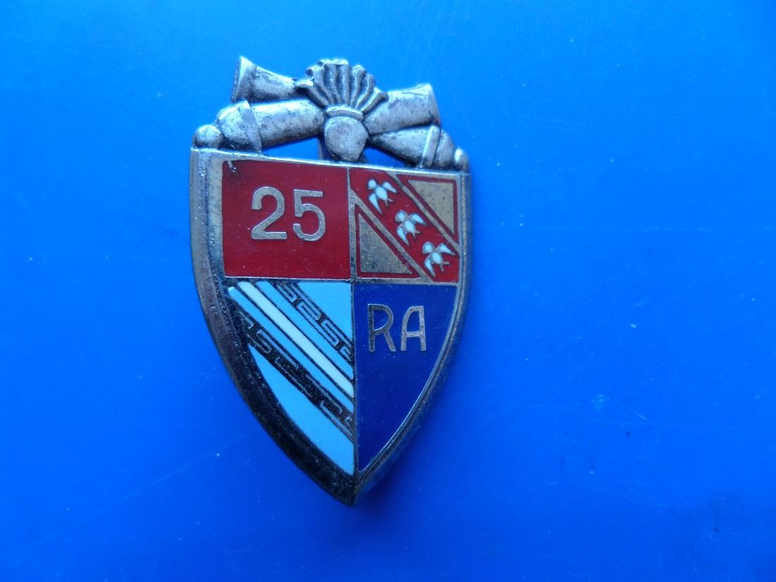 25 regiment d artillerie