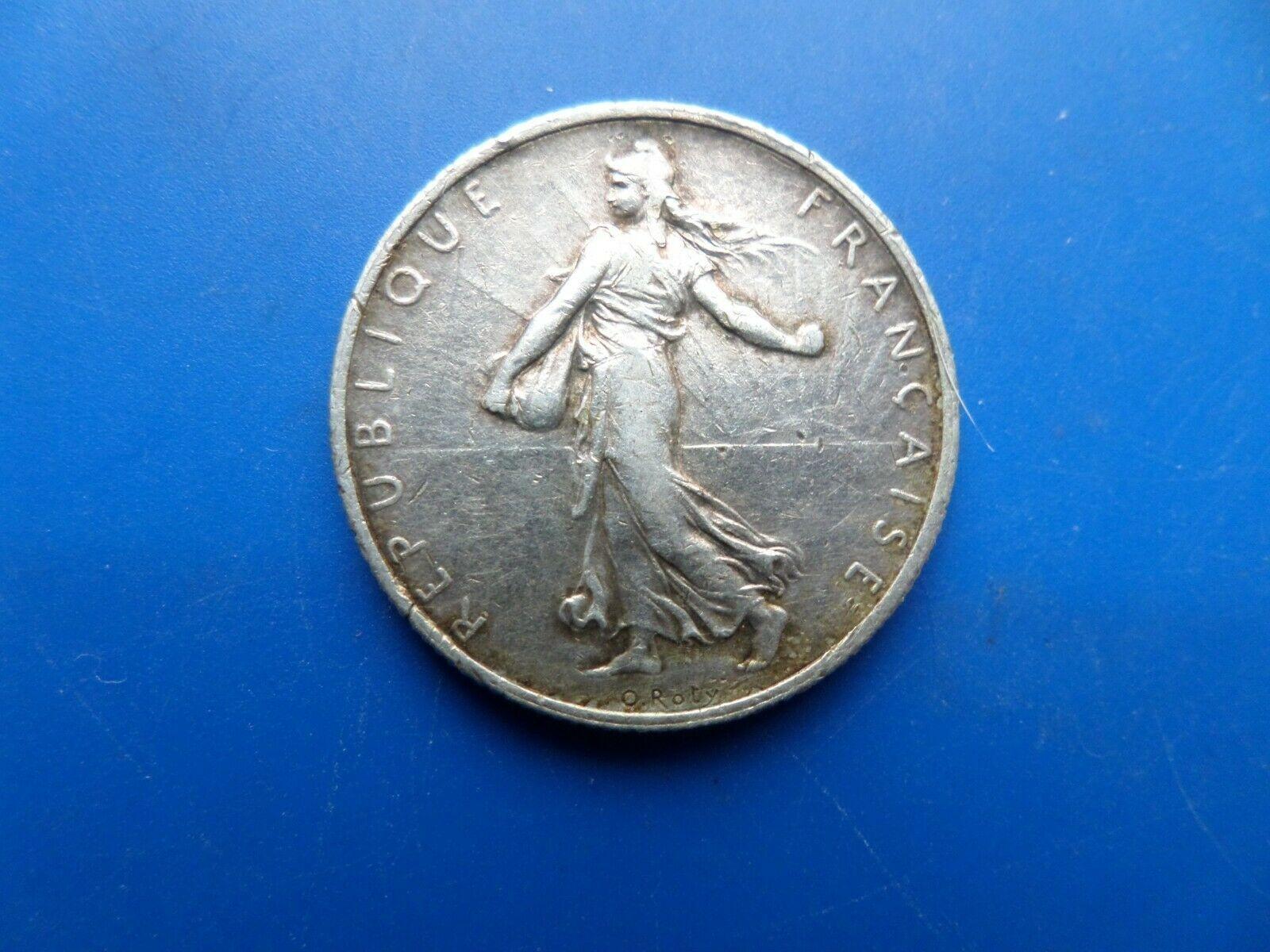 2francs argent 1919
