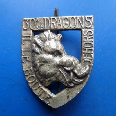 30 regiment de dragons
