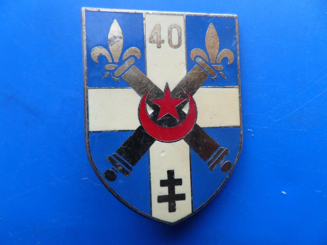 40 regiment d artillerie