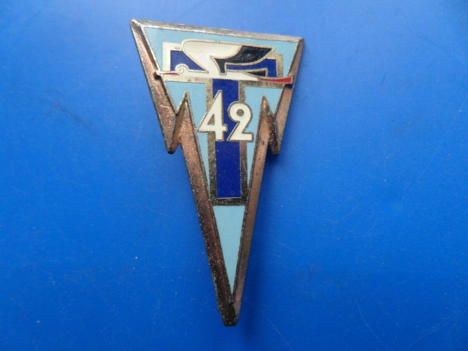 42 regiment transmissions