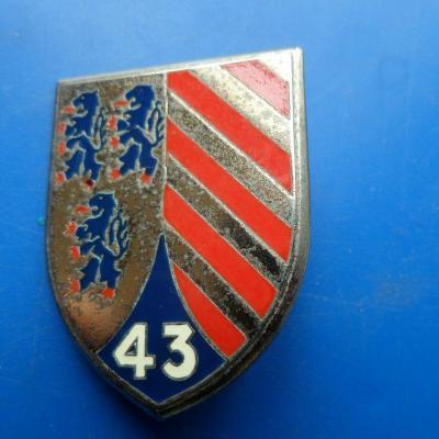 43 division militaire