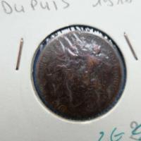 5 centimes dupuis 1