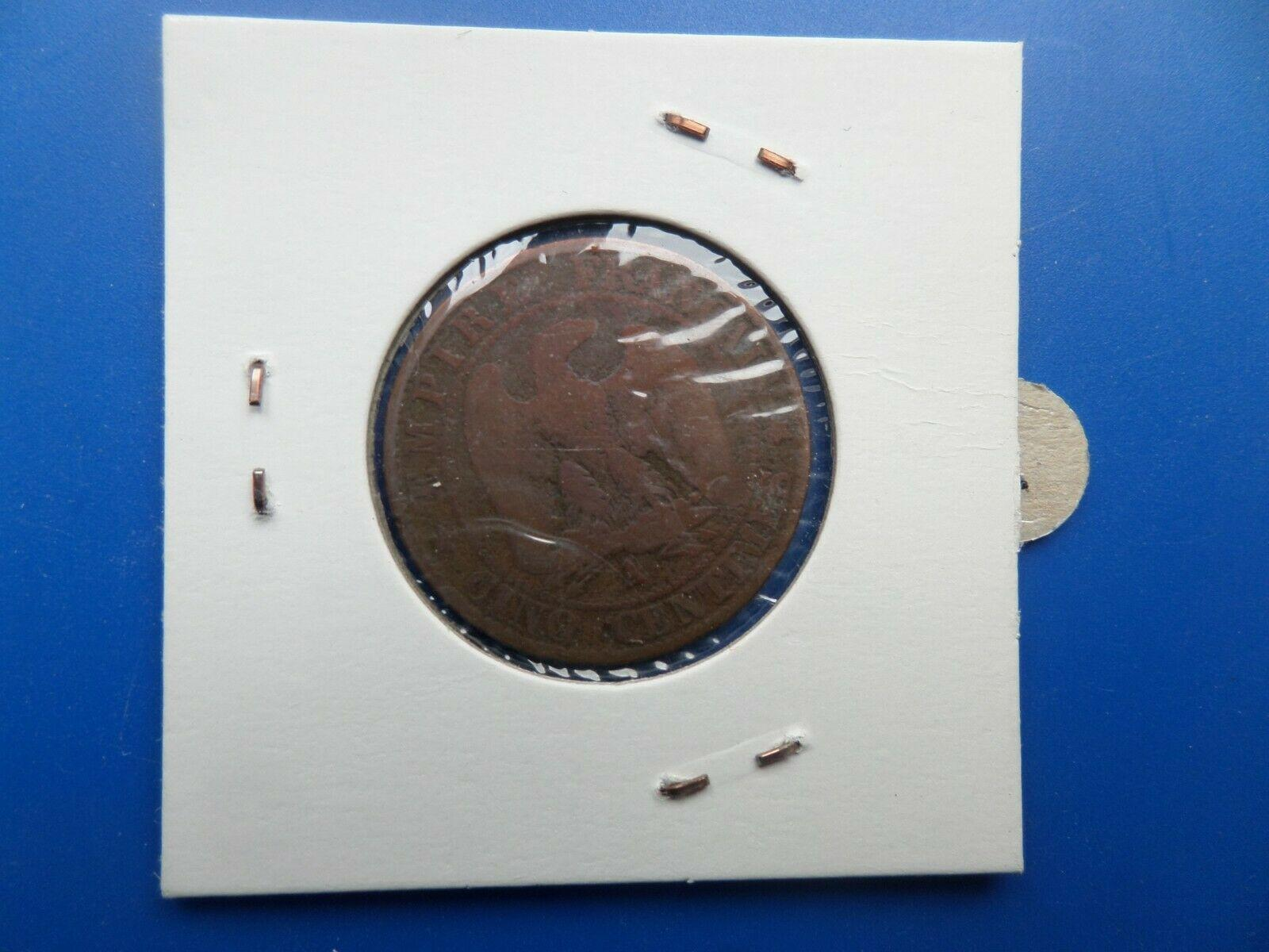 5 centimes napoleon iii 1864 a 1