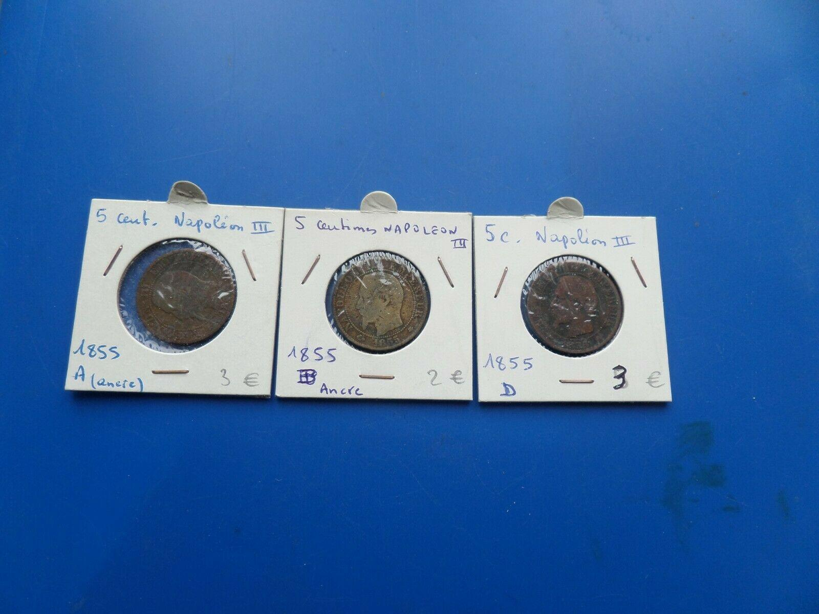 5 centimes napoleon iii 8