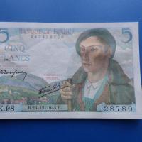 5 francs berger 28780