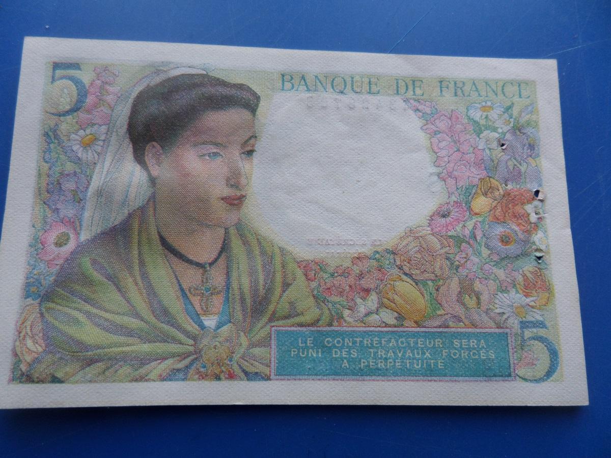 5 francs berger 28782