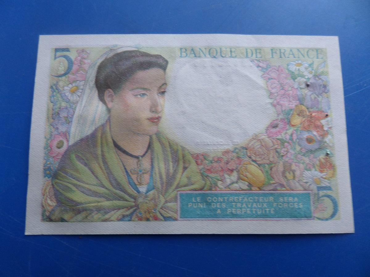 5 francs berger 6