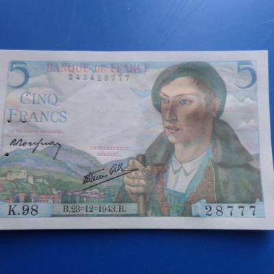 5 francs berger 7