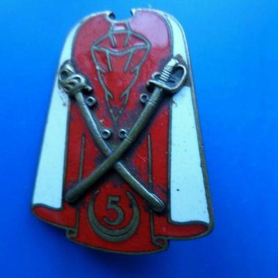 5 regiment de spahis algeriens 1