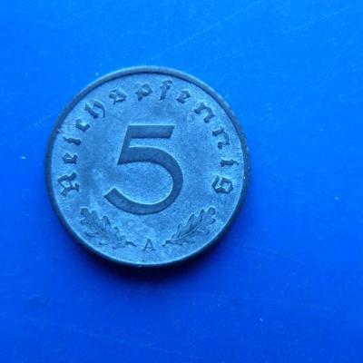 5 reichspfennig 1942