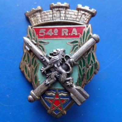 54 regiment d artillerie