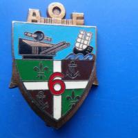6 regiment d artillerie coloniale a o f