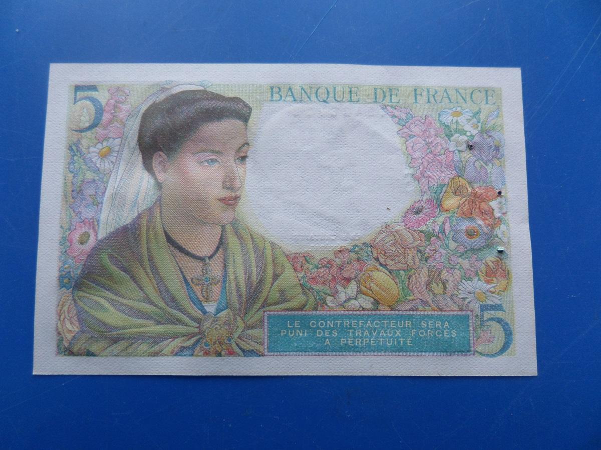 A 5 francs berger 28778