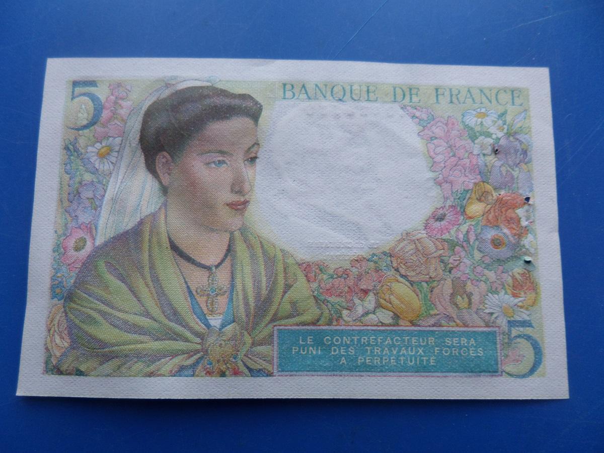 A 5 francs berger 28780