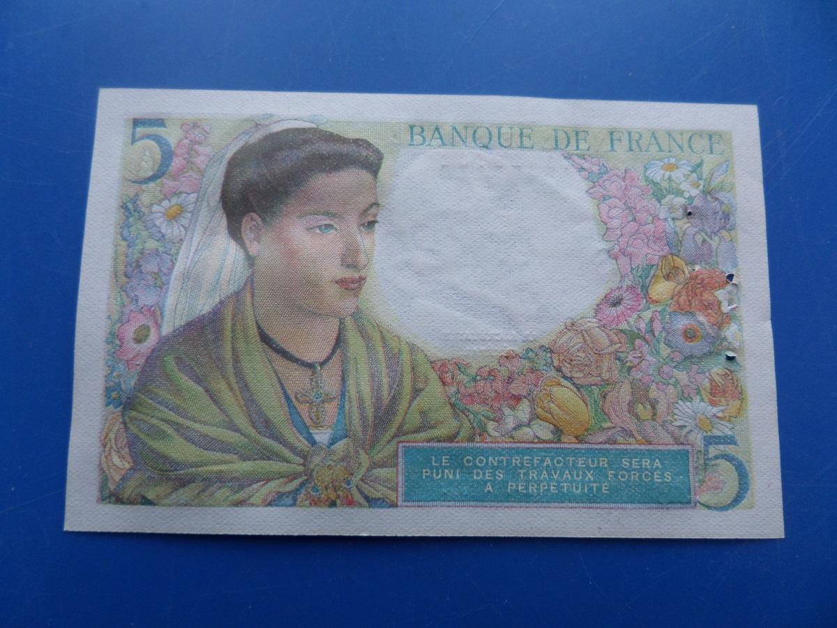 A 5 francs berger 28781