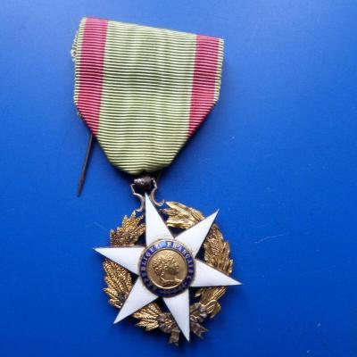 Chevalier de l ordre du merite agricole 1884