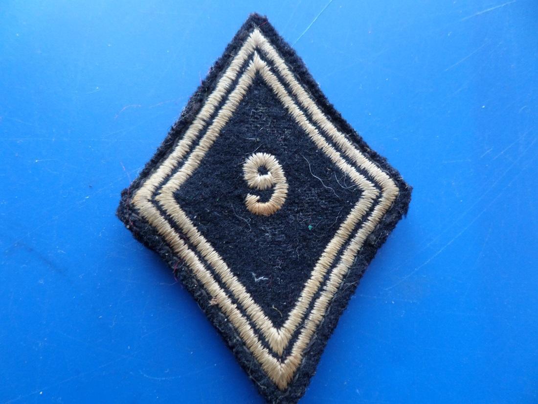 Losange 45 9 regiment de dragon