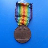 Medaille interalliee italie 1
