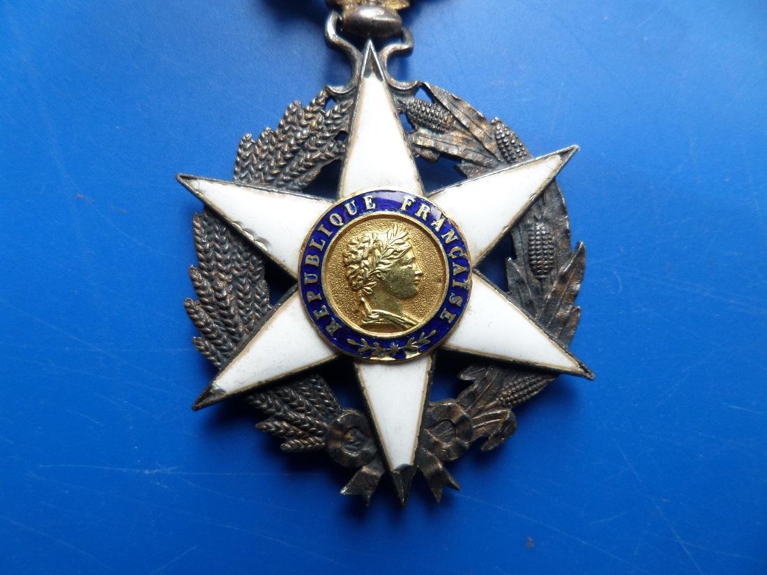 Medaille merite agricole 1883