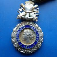 Medaille militaire 1870 2 etoiles