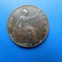 One penny 1912