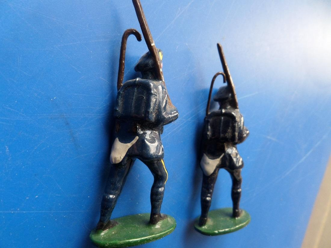 Soldat chasseurs alpins