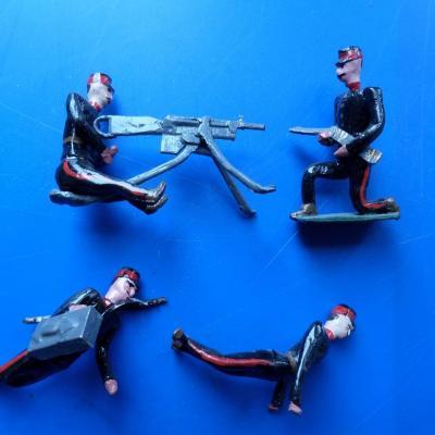 Soldats artillerie cbg mignot